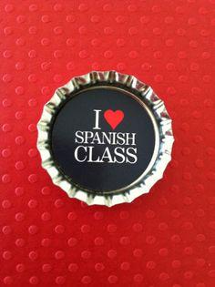 Me encanta la clase de espanol tambien.