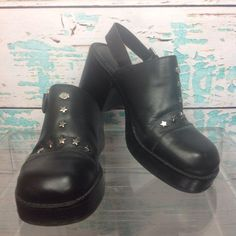 Harley Davidson Black Leather Biker Boots Womens 7.5 UK 5.5 EUR 38.5 Star Stud | Clothing, Shoes & Accessories, Women's Shoes, Boots | eBay!