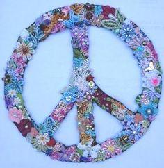 ...flower child peace...