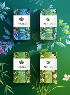 Wonderful use of color in both the product and the product photography - Niktea on Packaging of the World