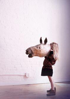 Girl horse.