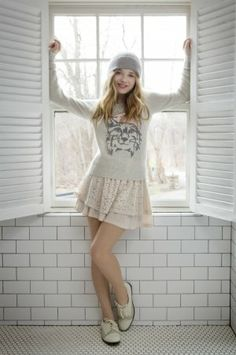 Jackie Evancho new album 'Awakening ' will be coming out September So excited :) Jackie Evancho, Singer Talent, Fall Outfits, Cute Outfits, Beautiful Asian Girls, Pretty Girls, Beautiful Women, Her Music, Celebs