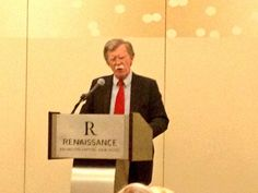 Ambassador John Bolton speaking at Eagle Council 2013.
