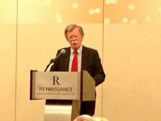 Ambassador John Bolton speaking at Eagle Council 2013.