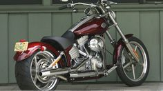 HD Rocker C in Red