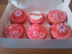 Mothers day cupcake order!