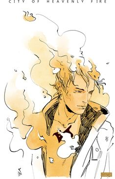 From Cassandra Jean ...   city of heavenly fire,  jace herondale, the mortal instruments