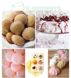 Girly chic with lace and pink- dessert ideas