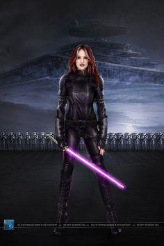 Star Wars: Mara Jade Skywalker by SilentArmageddon.deviantart.com on @deviantART
