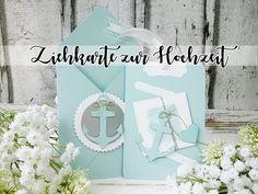 Ziehkarte - Glücklich zu zweit  Hochzeit   Wedding   Grußkarte   Maritim   Einladung - YouTube