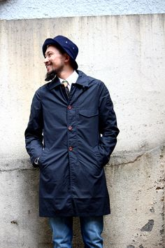 The guys ay Green Angle Menstore in universalworks topcoat