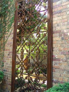 Use Mirrors In The Garden | Upcycled Garden Style | Scoop.it | Garden Gates,  Paths, And Sheds | Pinterest | Upcycled Garden, Gardens And Garden Gate