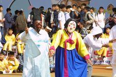 Koreyada həyat. Life in Korea: The 13th Andong International Mask Dance Festival