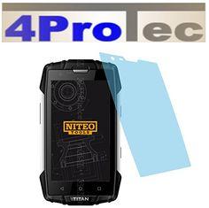 2 Stück HARTBESCHICHTETE KRISTALLKLARE Displayschutzfolie für myPhone Titan Bildschirmschutzfolie - http://besteckkaufen.com/4protec/myphone-titan-2-stueck-hartbeschichtete-fuer-216