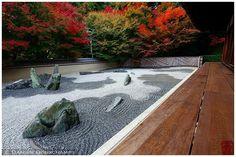 Terrace and zen garden (Ryougin-an 龍吟庵)