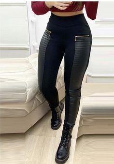 Trend Fashion, Fashion Outfits, Womens Fashion, Fashion Pants, Chic Type, Pantalon Slim, Mode Chic, Blouse Online, Dress Online