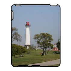 Long Beach Lighthouse II iPad Covers