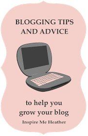 blogging tips advice blogs