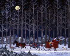 A Time of Good Cheer ~ Wilber Impersonating Santa Again by Jane Wooster Scott