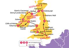 England, Scotland, Ireland I would love to be able to take this trip!!!!