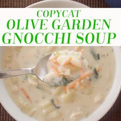 1000 Images About Recipes Soups On Pinterest Olive Garden Gnocchi Soup Mushroom Soup And