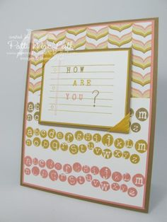 How Are You? by Patimac1980 - Cards and Paper Crafts at Splitcoaststampers