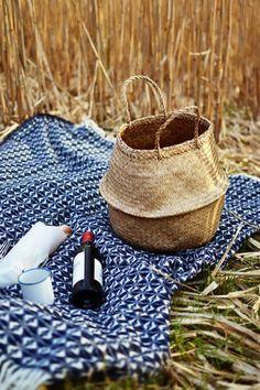 Cob weave Welsh blan