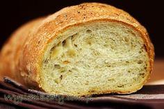Przepis: chleb cebulowy. Pyszny i łatwy chleb cebulowy z podsmażaną cebulką :) Bread