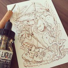 Anime Boy Sketch, Anime Drawings Sketches, Pencil Art Drawings, Kawaii Drawings, Cute Drawings, Anime Kunst, Anime Art, Relaxing Art, Estilo Anime