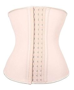 7705e4a1397 YIANNA Women s Underbust Latex Sport Girdle Waist Trainer Corset Hourglass Body  Shaper at Amazon Women s Clothing