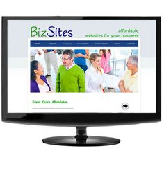 BizSites for small and medium businesses - an affordable way of getting online.