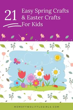 21 Easter & Spring Crafts for kids that are super easy to do at home. Easy crafts for kids to do at home is one of the best ways to celebrate the holidays. Easter Crafts are a great way to get the kids excited for Easter! BONUS: There are some Chocolate-Free-Crafts in here too! Spring crafts that are perfect for days at home with the kids too. Egg Crafts, Bunny Crafts, Preschool Crafts, Paper Crafts, Easter Activities For Kids, Spring Crafts For Kids, Book Day Costumes, Easter Traditions, Sewing For Kids