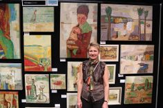 Tetyana Khytko - SAW artist NZ Art Show 2013