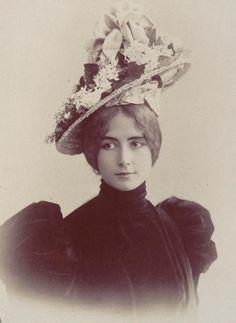 CharlesReutlinger  Portrait de Cléo de Mérode 1900
