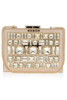 Sparkle in style: Box Crystal Clutch Bag by #ElieSaab