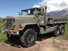 Surplus 1990 BMY M923A2 5 Ton 6x6 Cargo Truck in Ogden, Utah, United States (GovPlanet Item #547867)