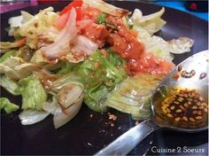 Cuisine 2 Soeurs: Salade au saumon fumé et aux avocats