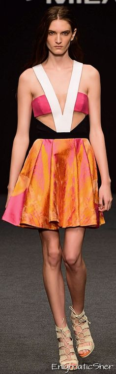 Byblos Milano Spring Summer 2015 Ready-To-Wear Spring Summer 2015, Summer Time, Ready To Wear, Orange, Formal Dresses, Pink, How To Wear, Clothes, Fashion