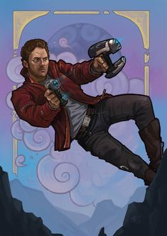 Guardians of the Galaxy - Peter Quill by Matt Haworth