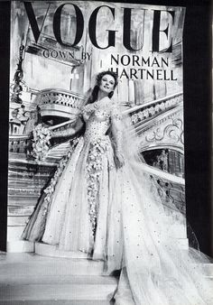 Anna Neagle in 'Maytime In Mayfair': Norman Hartnell 1949