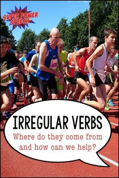 Do you know the history of English irregular verbs? This post describes how they came about, how verbs may change in the future, and how to help children learn them. Plus, FREEBIE irregular verb probe included in post!