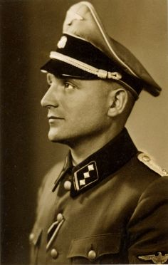 Nikolaus 'Klaus' Barbie, The Butcher of Lyon, France.  SS captain and Gestapo member. He was extradited from Bolivia to France in 1971, tried, and sentenced to life in prison. He died while incarcerated from leukemia in 1991.