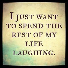Laughing helps your mind, body and soul age gracefully. Make sure you have some daily.