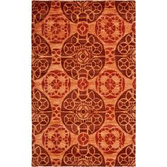 Wyndham Cinnamon (Red) 8 ft. x 10 ft. Area Rug