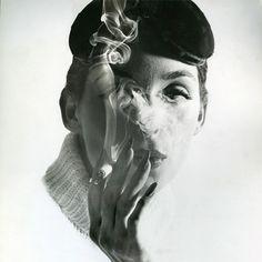 Anne St. Marie Smoking. By Tom Palumbo