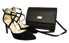 Zmysłowe czarne sandały i torebka. Buty ze skóry Roseti. Komplet torebka i buty Shoes, Fashion, Moda, Zapatos, Shoes Outlet, Fashion Styles, Fasion, Footwear, Shoe