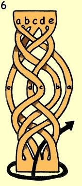 5-strand mystery braiding