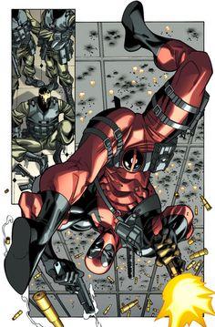 Deadpool By Carlos Barberi