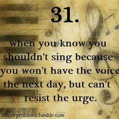Singer Problems