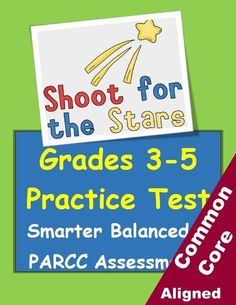 and grade PARCC / Smarter Balanced practice test. Reading, writing and math. all in one packet! Are your kids ready for standards-based testing? From Betsy Weigle at Classroom Caboodle Test Taking Skills, Test Taking Strategies, 4th Grade Reading, Third Grade Math, Fourth Grade, School Fun, School Stuff, School Ideas, Summer School